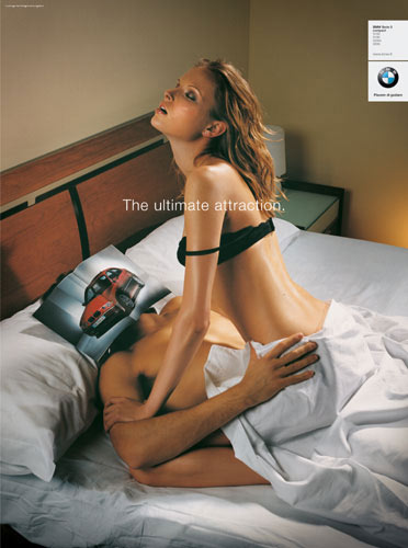 bmw - the ultimate attraction