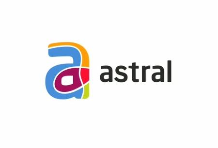 Nouveau logo Astral Média