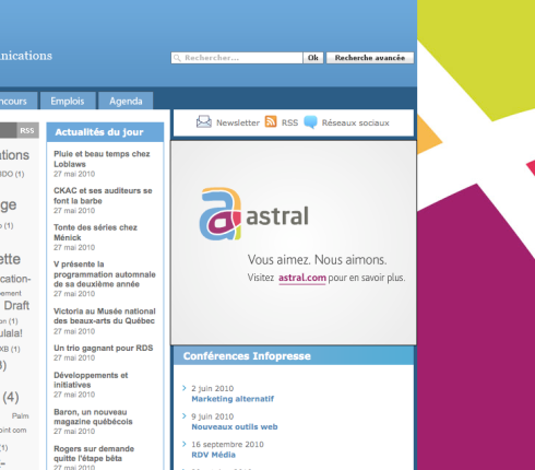 logo Astral - Infopresse